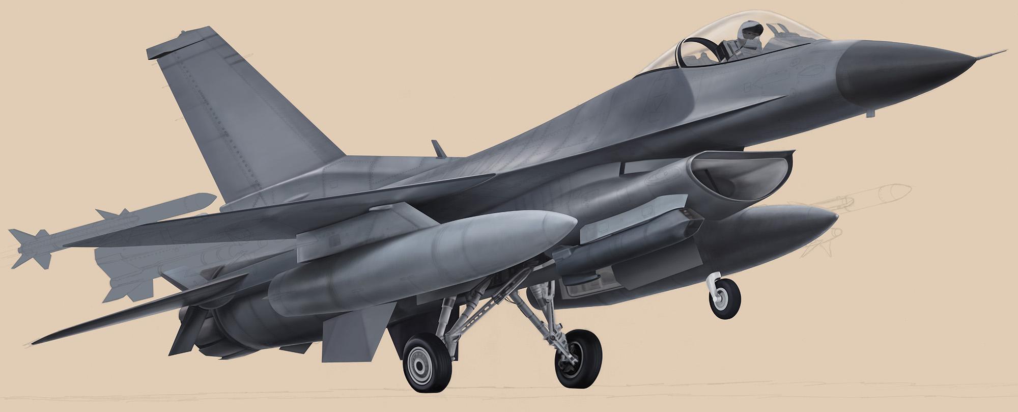 F-16CJ - Block 50 F-16CJ-Block50_01