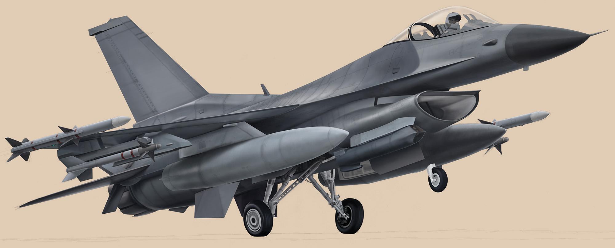 F-16CJ - Block 50 F-16CJ-Block50_02