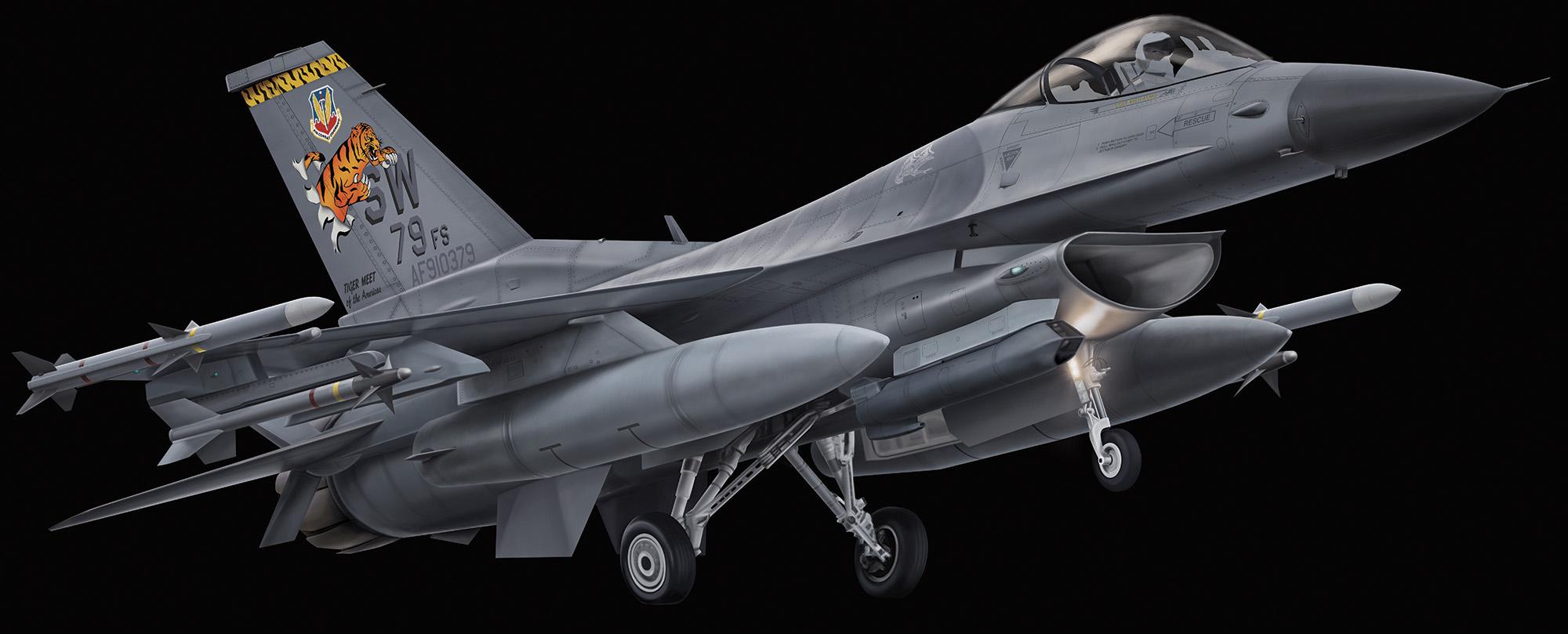 F-16CJ - Block 50 F-16CJ-Block50_04