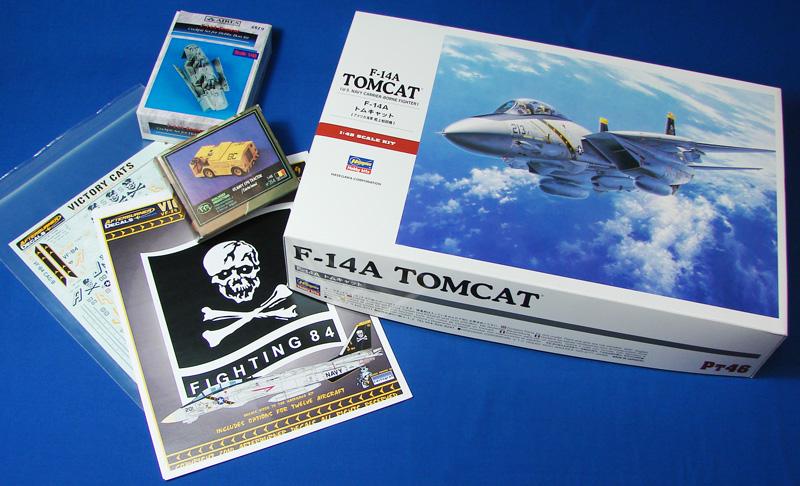 F-14 TOMCAT 1/48 --Montage en commun :Joycraft et Domi --The end PresentationProjet_F-14A