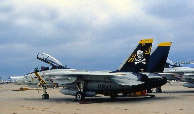 F-14 TOMCAT 1/48 --Montage en commun :Joycraft et Domi --The end ReferenceF14AJollyRogers